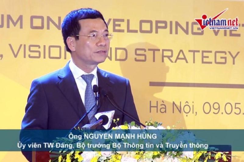 DN công nghệ VN: Khát vọng, tầm nhìn vì một Việt Nam hùng cường