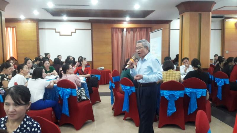 """Hà Tĩnh: 1.200 giáo viên dự tập huấn dạy học lớp 1 bộ sách """"Cánh Diều"""""""